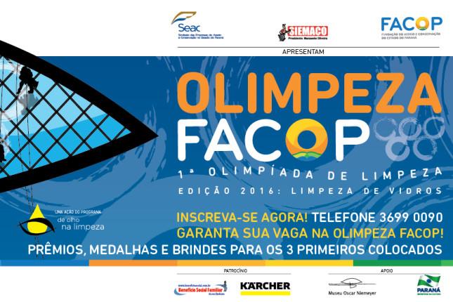 FACOP realiza 1ª Olimpíada da Limpeza