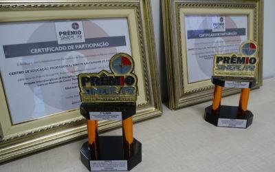 Escola Técnica da FACOP recebe dois primeiros lugares em importante prêmio da educação