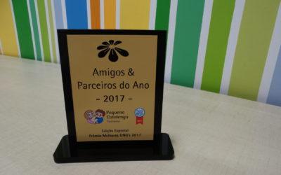 FACOP recebe prêmio do Pequeno Cotolengo pelo 4º ano consecutivo