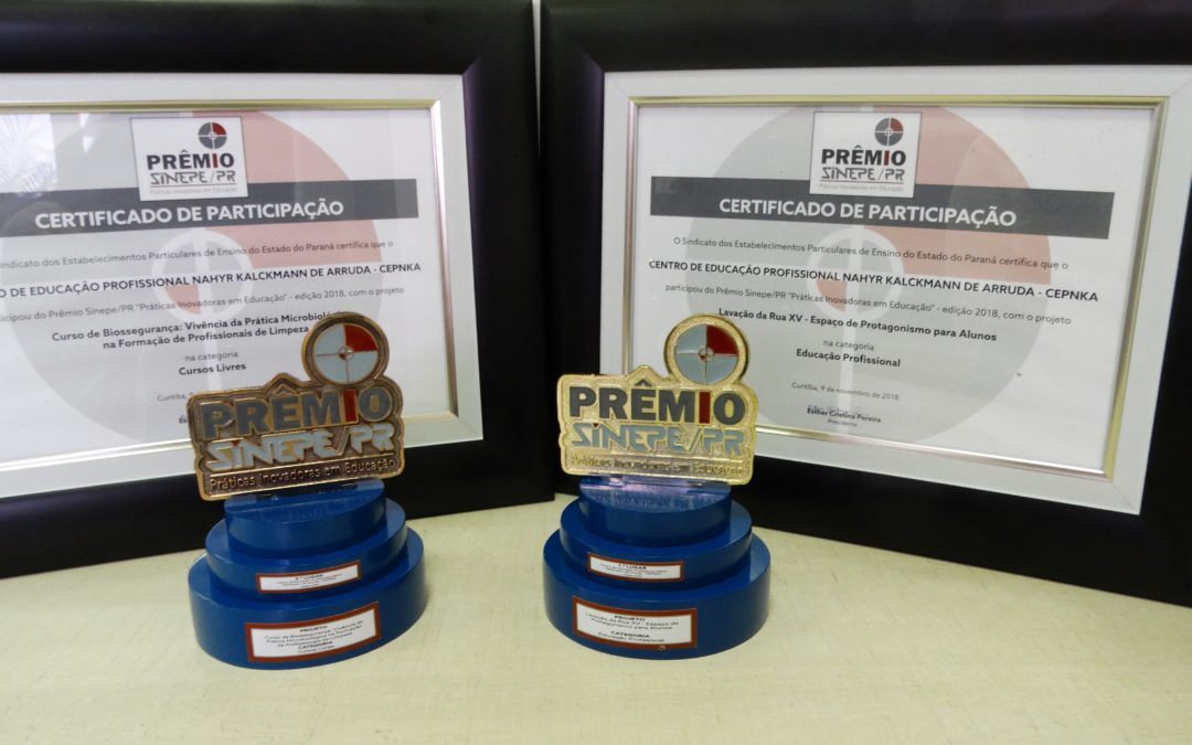 CEPNKA, a escola da FACOP, recebe dois prêmios por práticas inovadoras na educação