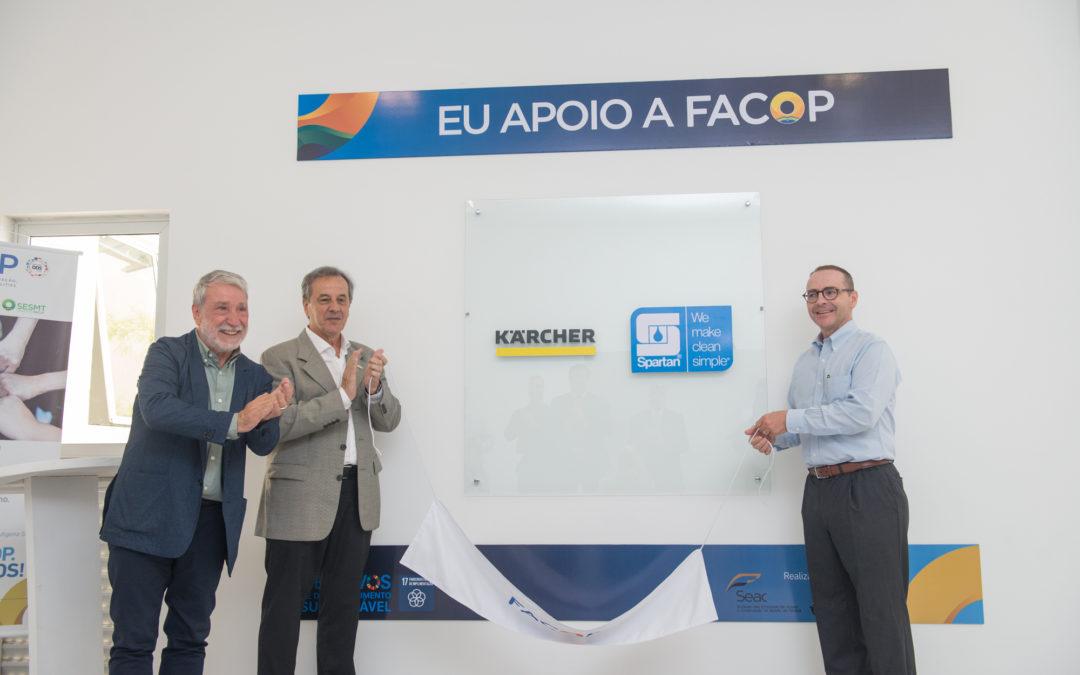 """Evento comemora parcerias e novos projetos com o lançamento do programa """"Eu Apoio a FACOP"""""""