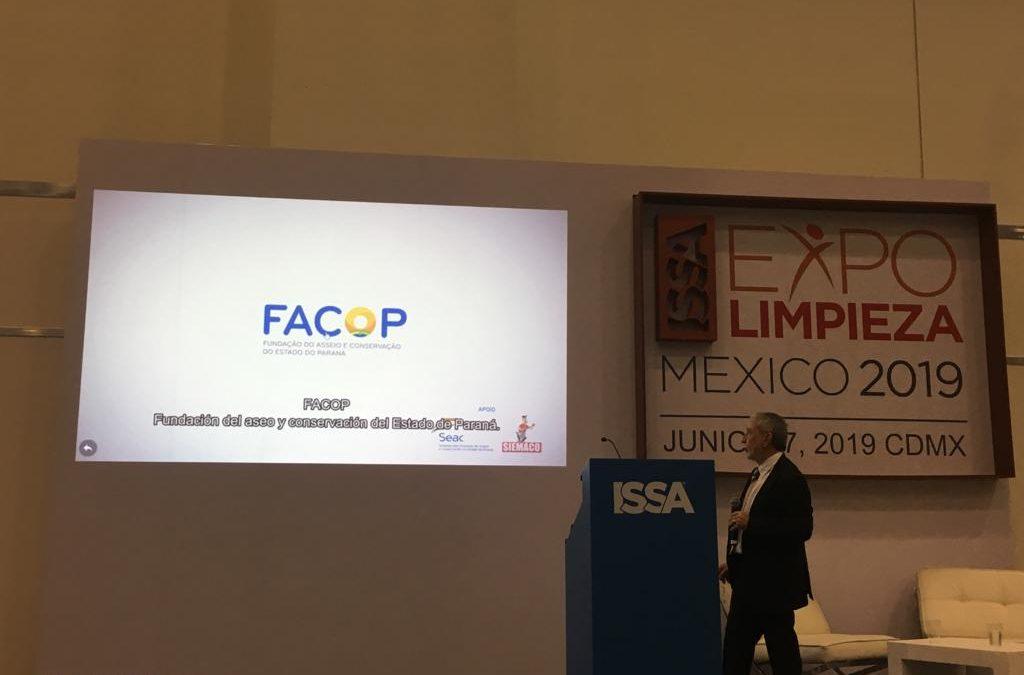 FACOP participa da ExpoLimpieza no México, maior evento de limpeza da América Latina