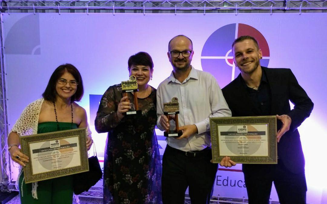 CEPNKA – Escola da FACOP é mais uma vez premiada pelo SINEPE no Prêmio Práticas Inovadoras em Educação