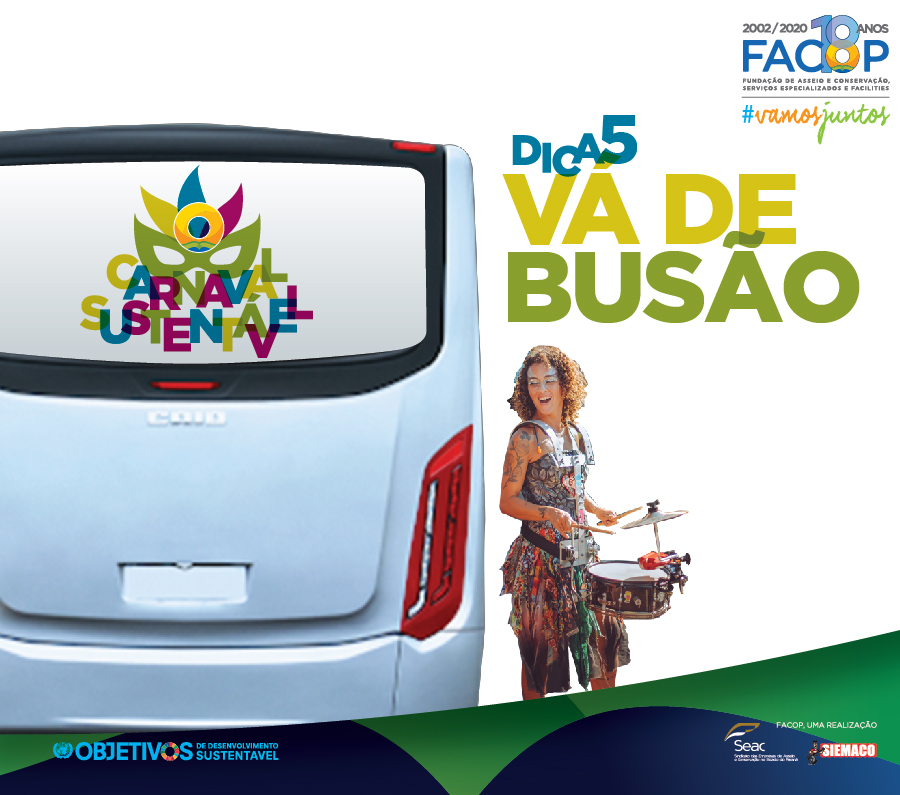 Carnaval Sustentável Facop - transporte