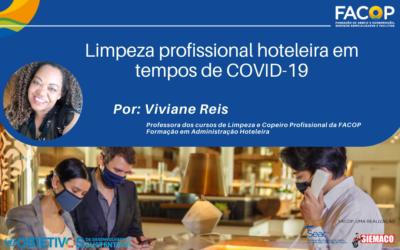 Limpeza profissional hoteleira em tempos de COVID-19